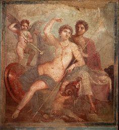 Museo Archeologico Nazionale - Napoli - Pittura pompeiana