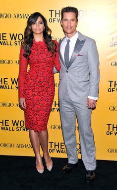 Camila Alves and Matthew McConaughey make one super hot couple!