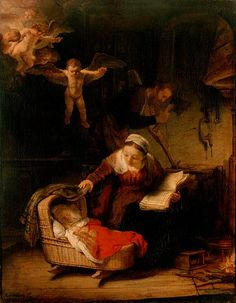 The Holy Family, Rembrandt