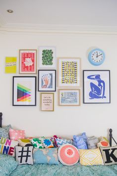 I'm sharing 3 ways I've refreshed my room for Spring, including a new gallery wall, succulents and a nice firm mattress.