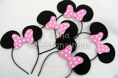 Orelhinhas do Mickey e Minie - R$: 3,90