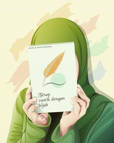 kumpulan anime muslimah bercadar keren - my ely Hijab Drawing, Cute Girl Wallpaper, Wallpaper Art, Islamic Cartoon, Hijab Cartoon, Islamic Girl, Girly Drawings, Islamic Wallpaper, Anime Love Couple