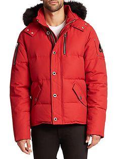 3Q Fur-Trimmed Puffer Jacket    Saks Fifth Avenue