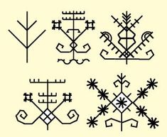 Lithuanian ethnic folk symbols #ornaments #tattoo #Lithuania