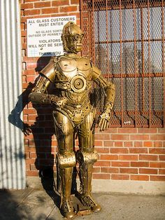 Is this the Victorian droid you're looking for? Steam 3PO