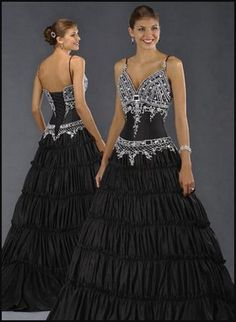 black wedding dresses - Google Search