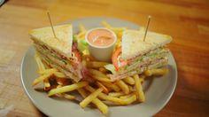 Klasszikus Club szendvics #chicken #sandwich