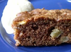 Grammie Bea's Chopped Apple Cake