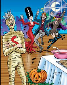 Halloween Archie love <3