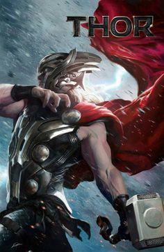 Thor by Alexander Lozano * - Art Vault