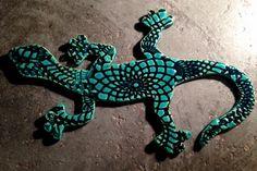 ❤️ Little ceramic gecko Geckos, Turquoise Bracelet, Ceramics, Bracelets, Handmade, Jewelry, Ceramica, Pottery, Hand Made