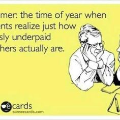 Summer & a Teachers Salary