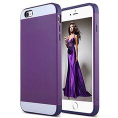 iPhone 6 Plus Case,ULAK Case for iPhone 6 Plus Hybrid Dual Layer Skin Rubber Bumper Case Cover for Apple iPhone 6 Plus 5.5 Inch(Purple) ULAK http://www.amazon.com/dp/B00Q2TCDYE/ref=cm_sw_r_pi_dp_pkLhvb12NKVGH