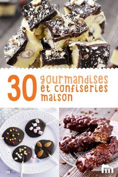 Attention, contenu fortement gourmand à suivre : chocolats et bonbons maison #cuisine #marmiton #recettemarmiton #recette #chocolat #confiserie #bonbon #sucrerie #faitmaison Crack Chicken, Food For Thought, Biscuits, Cereal, Attention, Muffins, Food And Drink, Candy, Baking