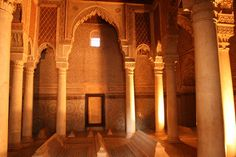 Saadian Tombs, Marrakesh.