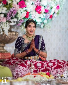 Half Saree Lehenga, Lehenga Saree Design, Lehenga Designs, Half Saree Designs, Silk Saree Blouse Designs, Blouse Neck Designs, Indian Fancy Dress, Dress Indian Style, Indian Bridesmaids