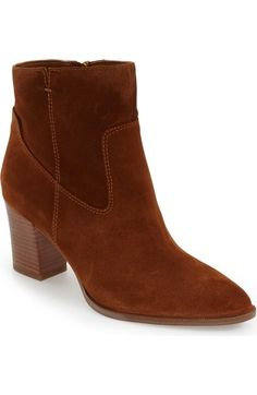 SARTO by Franco Sarto 'Echelon' Block Heel Bootie (Women) available at #Nordstrom