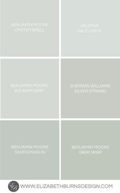 Top picks for gray-blue-green paints. Gray Blue Green Shades. BENJAMIN MOORE…