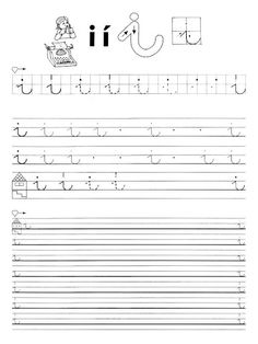 Jobb- és balkezes betű és szám gyakorlófüzet - Borka Borka - Picasa Webalbumok Alphabet Worksheets, Free Worksheets, Preschool Activities, Sheet Music, Lettering, Album, Writing, Learning, Alphabet