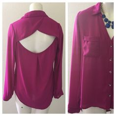 Boutique size medium fushia top In pre loved great condition. Medium. Have Tops Blouses