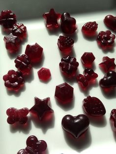 Homemade Fruit Gummies - from Predominantly Paleo Homemade Gummies are one of our all time fave snacks!