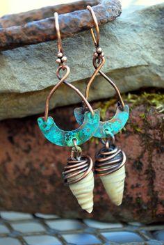 Melinda Orr's creation using Ceramic Bead Dangles by Marlasmud
