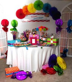 Sweet 16 Sweet Shoppe #sweet16 #party