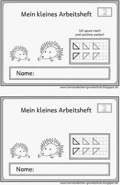 Lernstübchen: Spure nach und zeichne weiter (2)