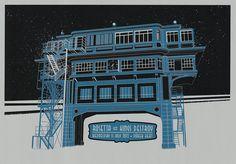 Silkscreen Posters 2012 by Nagy László, via Behance