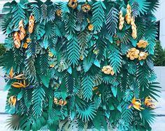 Яркая тропическая фотозона, для Ваших красочных воспоминаний #фотозона#тропики#экзотика#красота#листья#цветы#ручнаяработа#декорации#оформлениепраздника#creative#creative_decor#leaves#tropics#flowers#beauty#handmade Paper Flower Wall, Giant Paper Flowers, Leaf Projects, Paper Plants, Paper Leaves, Floral Backdrop, Paper Decorations, Diy Jungle Decorations, Paper Artwork