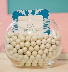 Ariel Party Gumballs/use sixlet candies for pearls