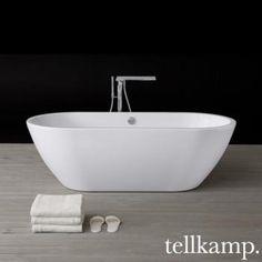 Tellkamp Cosmic freistehende Oval Badewanne