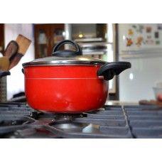 Amamos panelas vermelhas! #red #utilidades domésticas #cozinha #criativa #decor