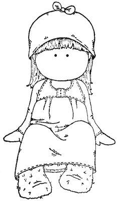 pige i kjole med hat