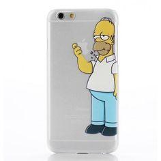 Ultra Thin Simpson Case Πλαστική Θήκη (iPhone 6 Plus) BULK - myThiki.gr - Θήκες Κινητών-Αξεσουάρ για Smartphones και Tablets - Simpson