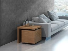 Bout de canapé meuble bar. Mod. GIRO Lounge, Couch, Storage, Table, Furniture, Home Decor, Ideas, Coffee Tables, Contemporary Bar