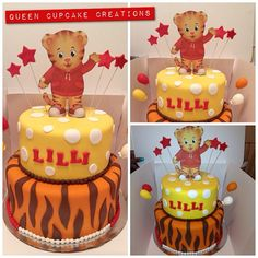 daniel tiger cake ideas