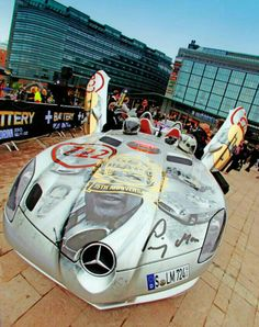 Mercefes Stirling Moss during Gumball 3000 2013.
