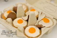 Egg Yolk Cupcake Icing