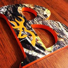 BRANTLEY Browning Mossy Oak Wooden letters by CuteNCustom on Etsy, $102.00