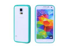 Translucent Matte Textured Reveal Two-shot Hybrid Cases for Samsung Galaxy S5 | Lagoo Tech