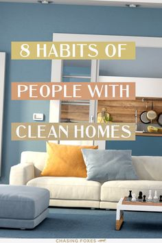 Check out these home cleaning tips that'll help you maintain a clean house. These cleaning tips and tricks will be great for your home and cleaning routine!