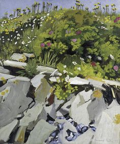 Painting by Fairfield Porter