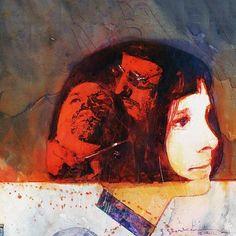Arte magnífica de O Profissional. #leontheprofessional #profissional #natalieportman #jeanreno #garyoldman #lucbesson #movies