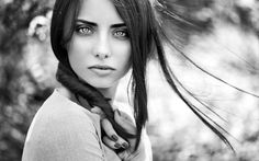 stunning girl bokeh wallpaper 36830