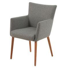 STUHL in Textil Hellgrau - Stühle - Esszimmer - Wohn- & Esszimmer - Produkte
