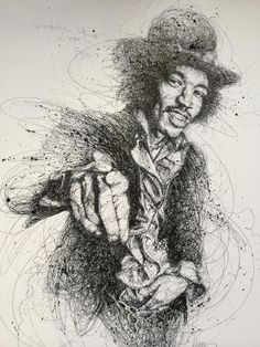 Jimi - Drawings with Lines: Vince Low