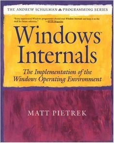 Windows Internals: The Implementation of the Windows Operating Environment: Matt Pietrek:  -- still useful for reverse engineering methodology