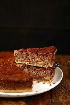 Gâteau de pain et de chocolat