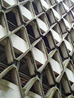 Brutalist, Car Parking, The Ordinary, Bristol, Architecture, Cyberpunk, Concrete, Environment, Construction